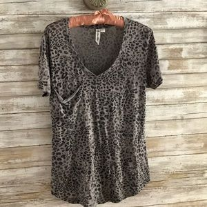 Others Follow Cheetah Print T Shirt